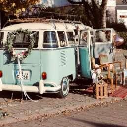 VW T1 Bulli als kultiges Oldtimer Hochzeitsauto mieten