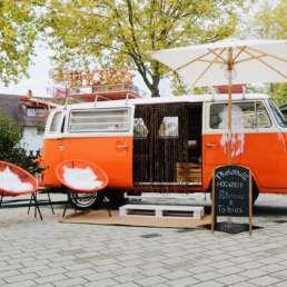 VW T2 Bulli als kultiges Oldtimer Hochzeitsauto aus Karlsruhe mieten