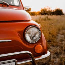 Fiat Nuova 500 L Rundlicht und Blicker